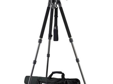 Rent: 1643 Miller Solo DV Alloy Tripod with DS-20 Fluid