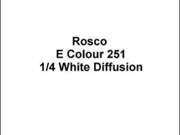 Rent: Set of (6) Rosco Diffusion Gels