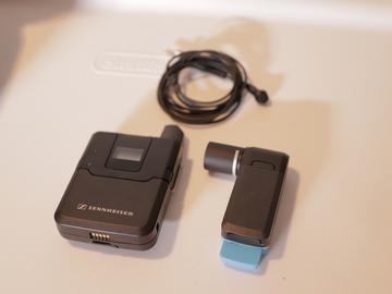 AVX Wireless Kit + ME2 Lav + Extra Batteries