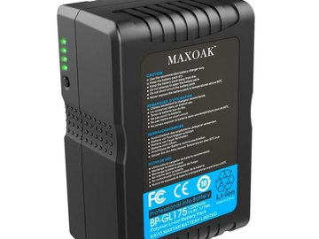 MAXOAK 177 (12000mAh/14.8V) V Mount Battery