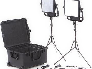 Rent: Litepanels Astra Bi-Color LED Traveler Kit (Gold Mount)