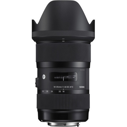 Sigma 18-35 F1.8 Art DC HSM Lens