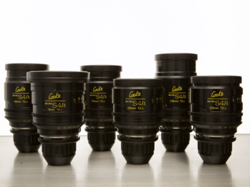 Rent: Cooke Mini S4/i (x6)