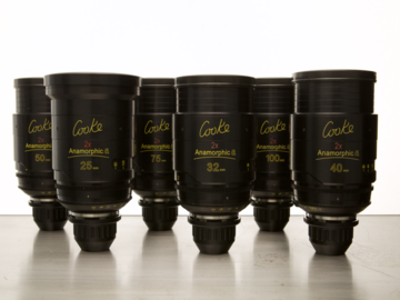 Cooke Anamorphic/i (Pick 4 Lenses)