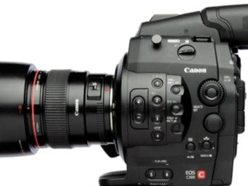 Rent: x3 Canon EOS C300 complete pkgs w/tripods, lenses, etc....