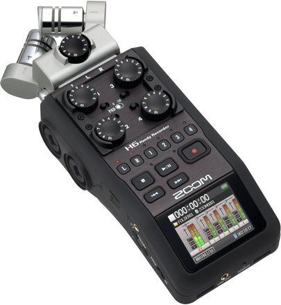 Zoom H6 Recorder Kit with 3 Microphones and wind sock