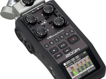 Rent: Zoom H6 Recorder Kit with 3 Microphones and wind sock