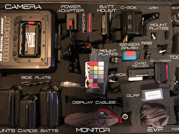 RED Epic Dragon 6K Core Rental Package w/ Tripod