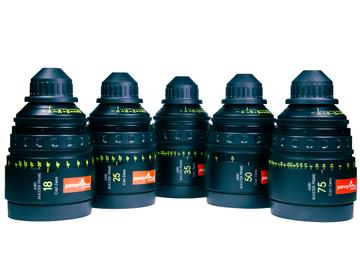 Rent: ARRI Zeiss MASTER PRIMES (6 x Brand New Lenses in Pelicase)