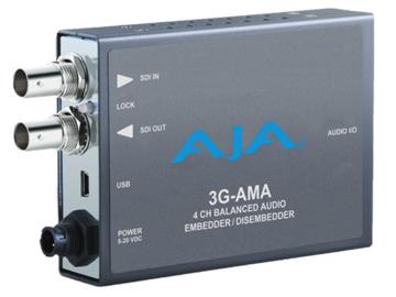 Rent: AJA 3G-AMA SDI 4-Ch Audio Embedder (2 of 3)