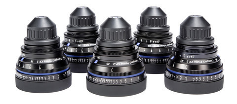 Zeiss CP.2 5-Lens Kit Package (PL/EF)