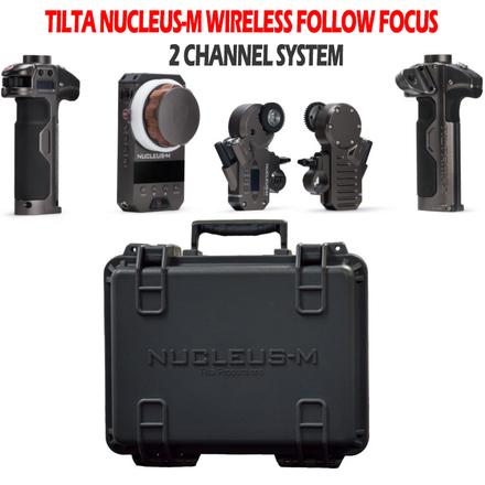 Tilta Nucleus-M 2 channel wireless follow focus + extras