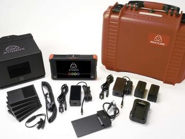 Rent: Atomos Ninja Flame 7-in 4K Recorder w/ 2TB in SSDs