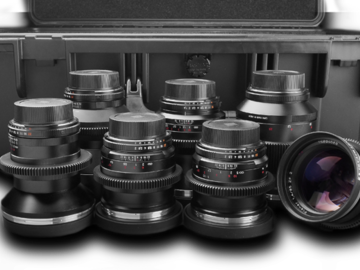 Rent: ZEISS ZF.2 Canon EF Mount  7-lens Set