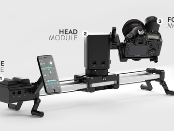 Edelkrone Slider PLUS X Long & Motion Kit
