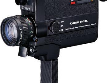 Rent: Canon 310XL Super 8mm Movie Camera