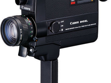 Rent: Canon 310XL Super 8mm *Film Included*