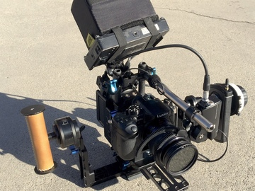 Rent: Custom Helix Jr + DJI Follow Focus  DOC gimbal rig