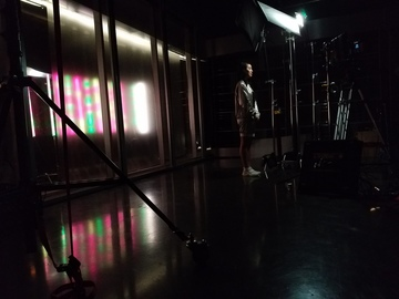 Rent: Grip and Lighting Van *Astera AX1 RGB 8 Led Kit included