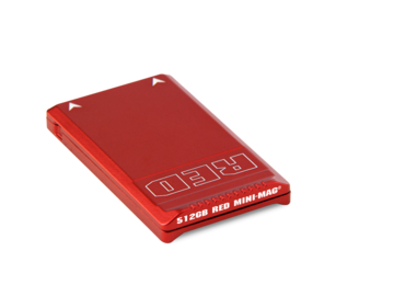 Rent: Red Mini Mag 512gb with Card Reader