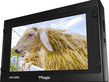 "Rent: TV Logic VFM-058W 5.5""  Monitor"