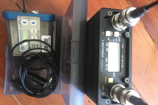 Lectrosonics 411 Reciever with SMD Transmitter Kit and Cos1