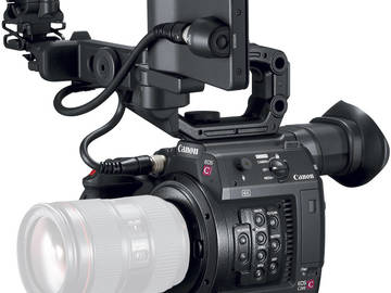 Rent: 2x Canon EOS C200 with 2x sachtler tripods and EF lens set
