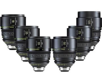ARRI Zeiss MASTER PRIMES (6 x Brand New Lenses in Pelicase)