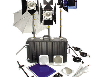 Rent: Lowel DP3 Kit w/dimmers