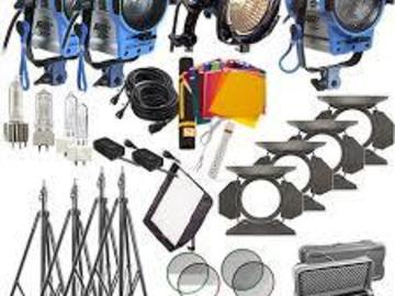 Rent: Arri 4 Light Lighting Kit