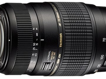 Rent: Tamron Auto Focus 70-300mm Lens