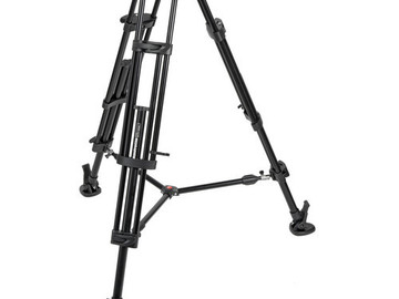 Rent: Manfrotto 546B + 501HDV Fluid Head