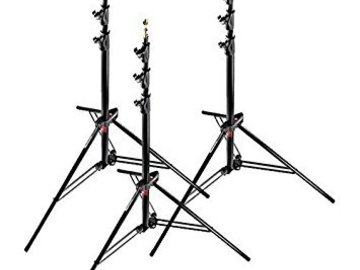 Rent: Manfrotto 12' Light Stands (x3)