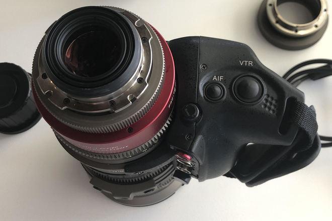 Angenieux EZ 2 15-40mm T2 w/ ENG SERVO GRIP