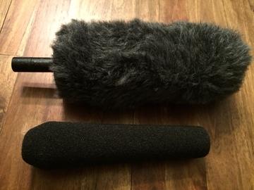 Rent: Sennhesier 416 with Rycote Softie, Foam & mount & Boom pole
