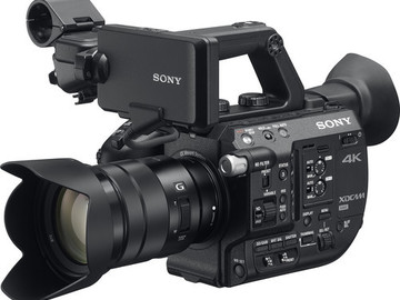 Rent: Sony FS5 Package with Tripod & LED Panels