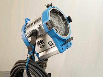 Rent:  Arri 650 Watt Tungsten Fresnel Light  with Stand
