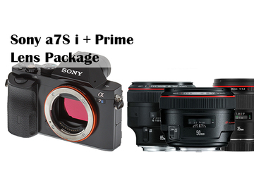 Rent: Sony  a7S i + Prime Lens Package
