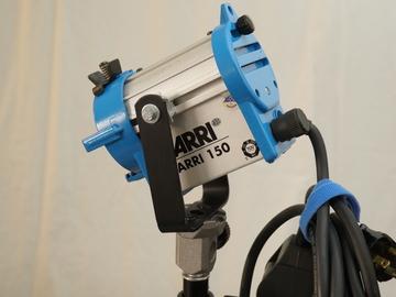 Rent: Arri 150 Watt Tungsten Fresnel Light (120VAC) (2 Available)