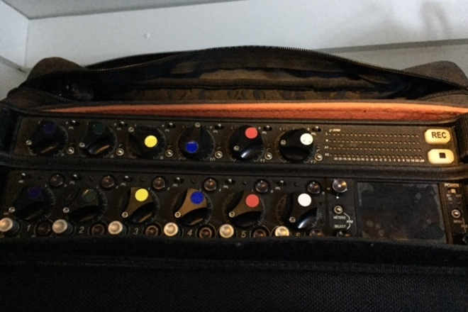 Sound Devices 664 with CL6 in bag