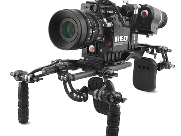 Rent: RED EPIC-X 5K PACKAGE w/ TRIPOD, SHOULDER MOUNT, & BATTERIES