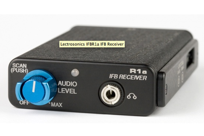 Lectrosonics IFB R1a (x2) complete with LMA Blk 26 TX