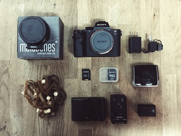 Rent: SONY A7S II + Metabones + Pelican Backpack KIT
