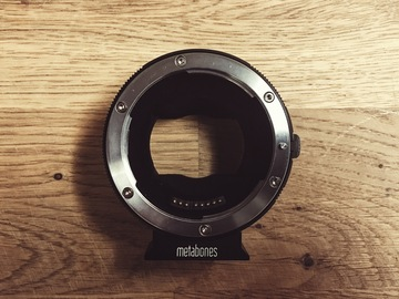 Rent: Metabones Canon EF to Sony E Mount T Smart Adapter (Mark IV)