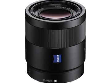 Rent: Sony FE Sonnar T* 55mm f/1.8 ZA Lens