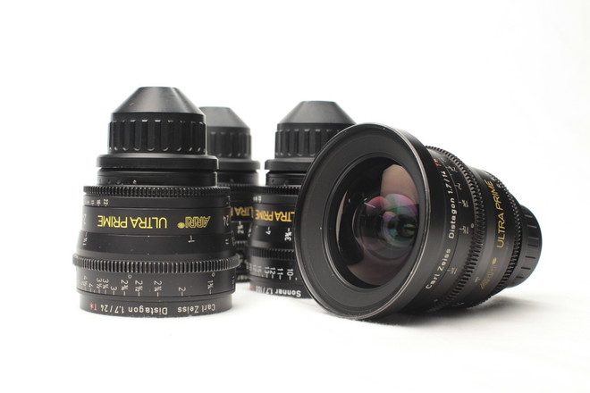 ARRI Ultra Prime Distagon 4 Lens Set