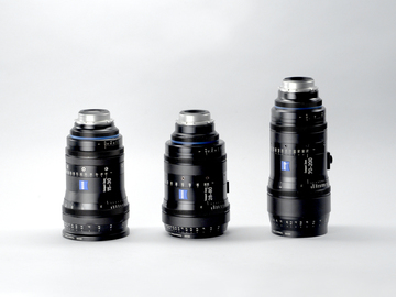 Zeiss CZ.2 15-30mm, 28-80mm, 70-200mm T2.9 PL or EF