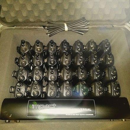 35 x Motorola CP200 Radios (Surveillance Included)