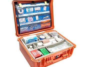 Rent: Medical Kit (Orange Pelican Case)