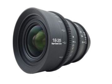Rent: GL Optics 18-35mm Cine lens EF T1.5
